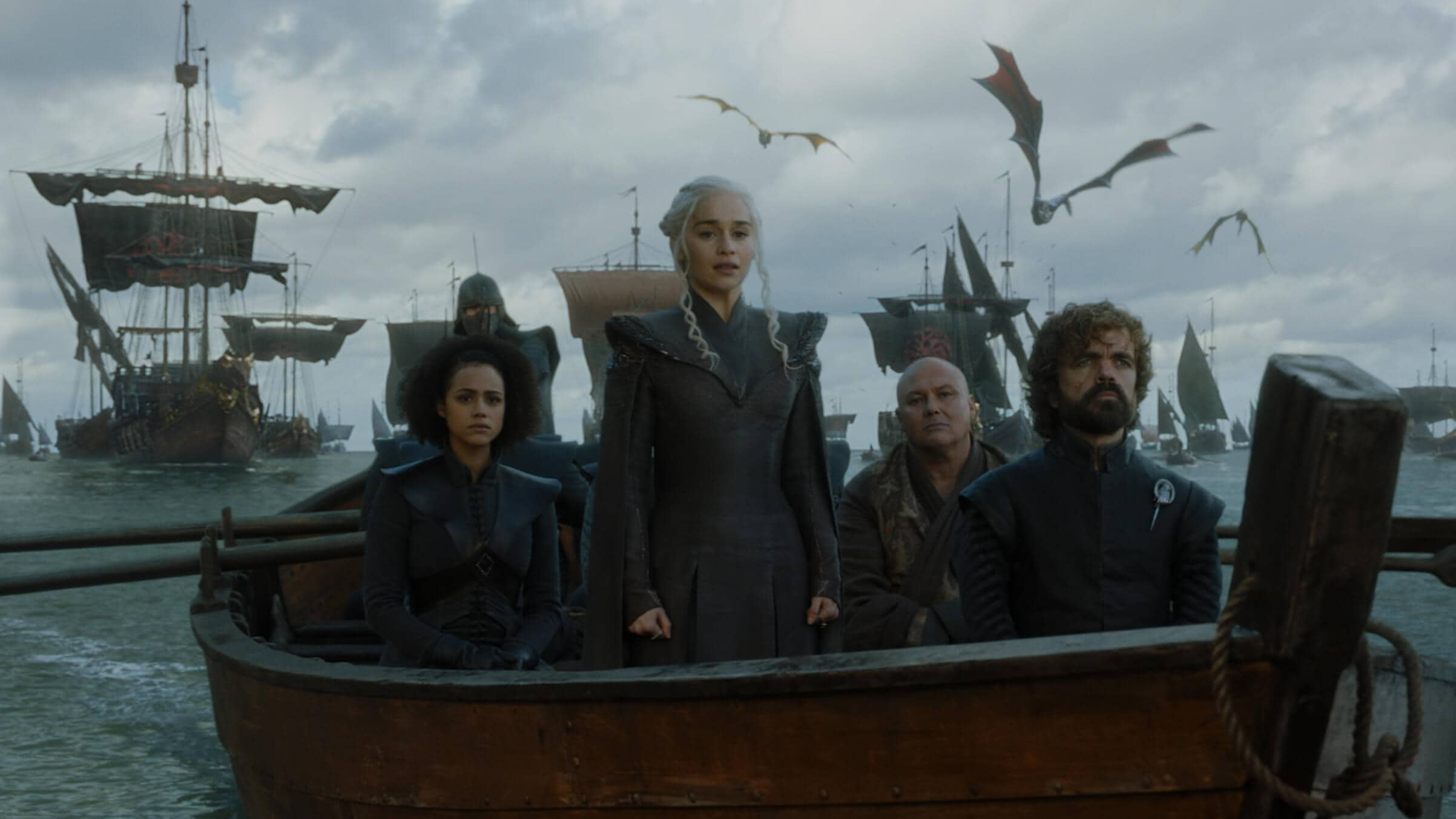 game of thrones daenerys arrives dragonstone with her army