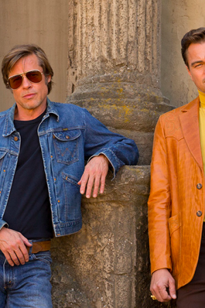 once upon a time in hollywood brad pitt e leo